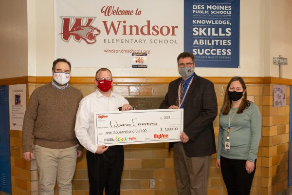 Windsor Wins Fuel Your School Sweepstakes
